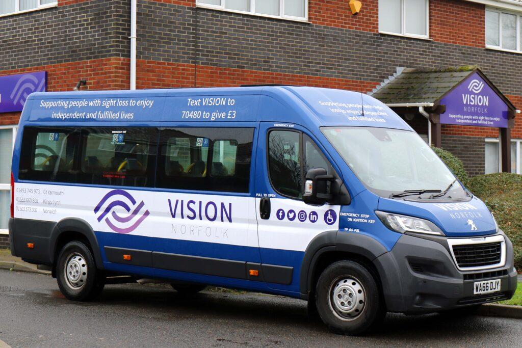 Vision Norfolk minibus
