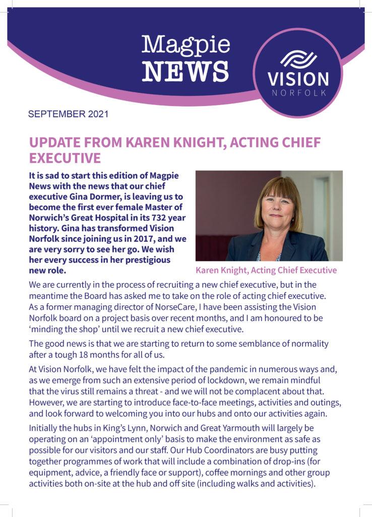 Vision Norfolk's Magpie News